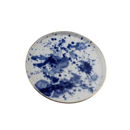 MARINE porcelán desszert tál - 22 cm