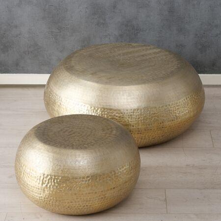 Dohányzóasztal szett  - Moon - Arany