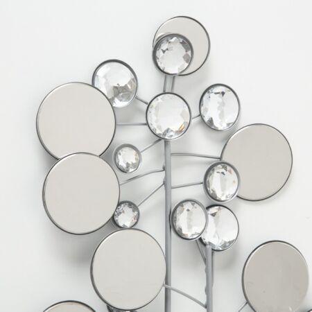 Silverline fali dekoráció - 95x43 cm