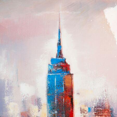 NYC Skyline Festmény 70x140 cm