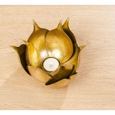 Arany Waterlily Mécses- nagy