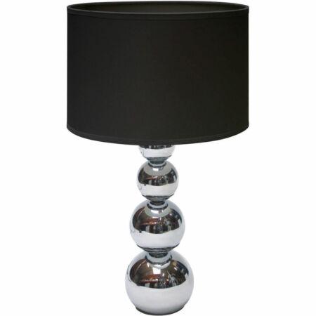 """""""Touch"""" Fekete ezüst asztali lámpa"""