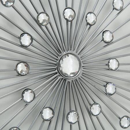 SILVANA fali dekoráció strasszokkal - 48 cm