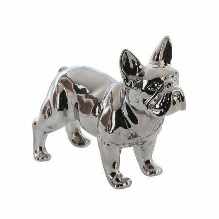 Bulldog kerámia dekoráció 29 cm