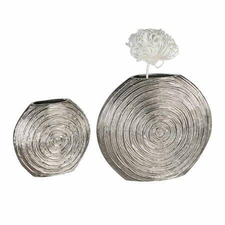 Visual váza  antikolt ezüst 20 cm