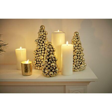 Arany Gömb Karácsonyfa- 22 cm