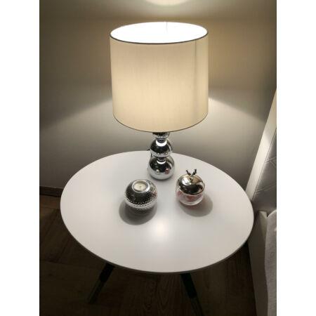 Beem asztalka  - Fehér 64x50 cm