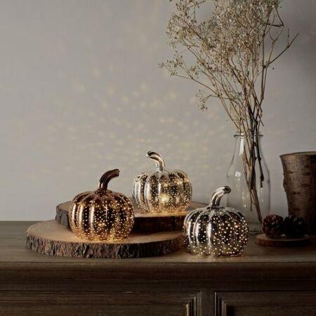 Őszi Ajándékdoboz ezüst színű üvegtökkel