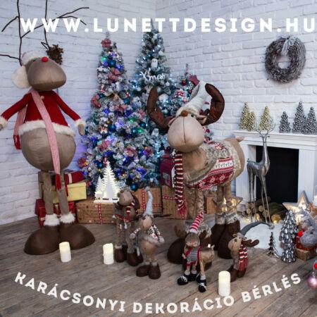 Karácsonyi dekoráció bérlés - egyedileg összeállítva!