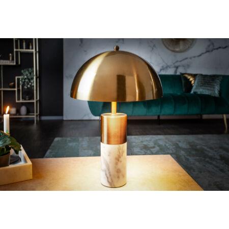 Burlesque márvány asztali lámpa aranyBurlesque márvány asztali lámpa arany