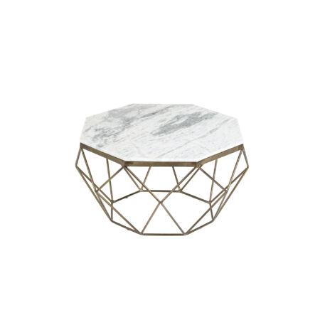Marmor márvány dohányzóasztal fehér