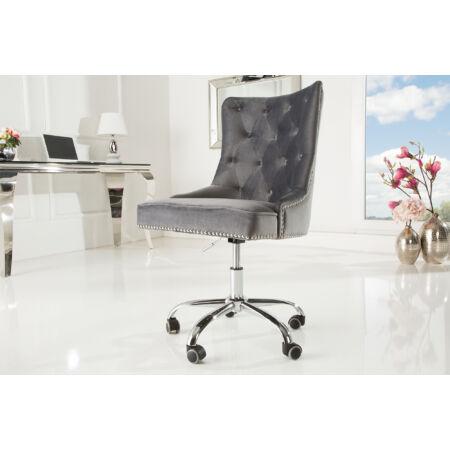 Frida bársony irodai szék - magasságállítóval