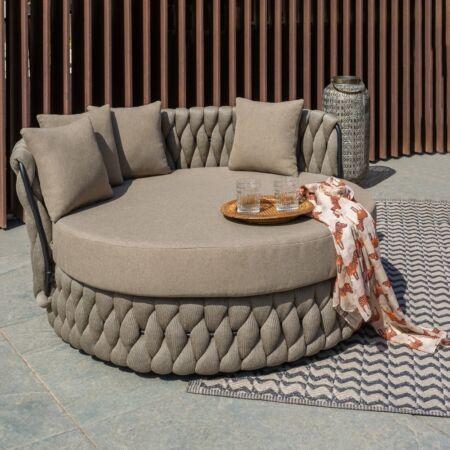 Naxos kültéri szőnyeg Bézs - Fekete - 90x150 cm