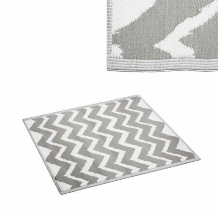 Corfu kültéri szőnyeg Szürke-fehér - 150x90 cm