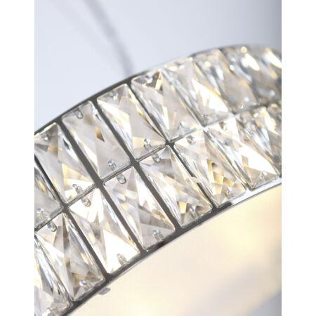 Diamante mennyezeti lámpa_46 cm