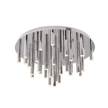 Organic mennyezeti lámpa_króm