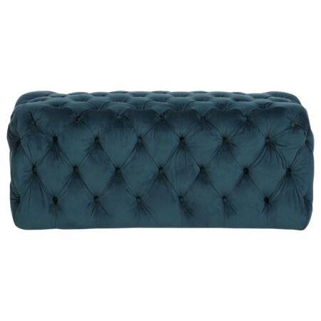 Eva bársony pad - kék