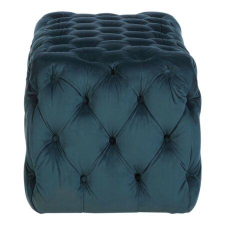 Sasha bársony pad - kék