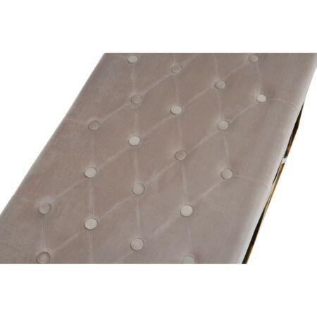 Allure Gold bársony pad 97x144 - szürke