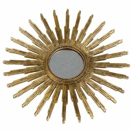 Kleopatra dekor tükör - arany
