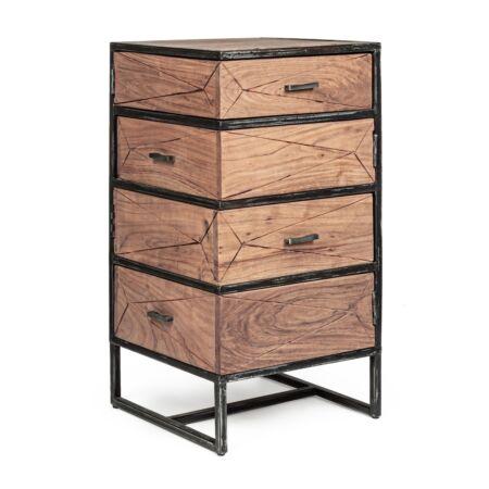 Aegon fiókos szekrény - 4 forgatható fiókkal