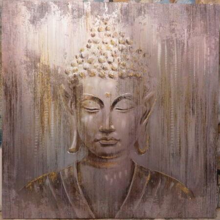 Buddha olajfestmény - 100x100