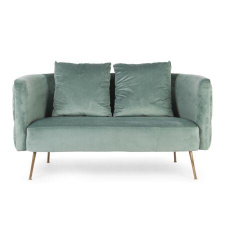 Sofia 2 személyes kanapé - Mentazöld