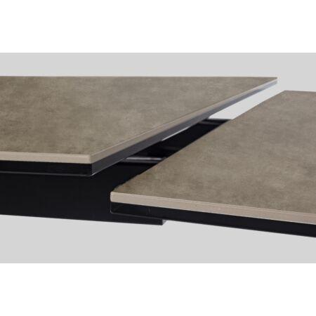 Archie epoxy étkezőasztal - kihúzható -  160/240 x 90 x 76 cm