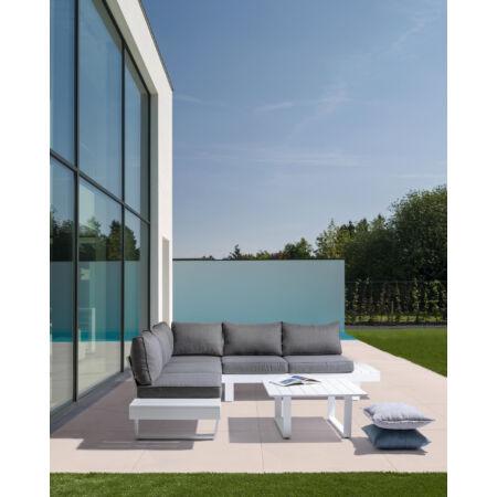 LIVORNO prémium kerti bútorszett - fehér