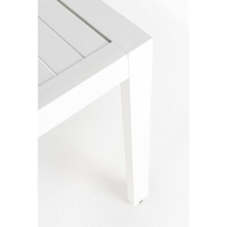 Krystelle prémium kerti sarokkanapé asztallal- fehér
