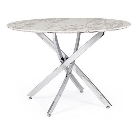Marble étkezőasztal márvány asztallappal - 110x75 cm