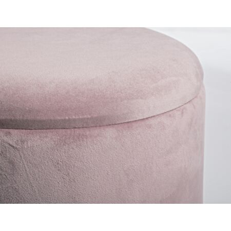 Wanda puff tárolóval - pink