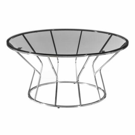 ELIÁN dohányzóasztal ezüst - 90x90 cm