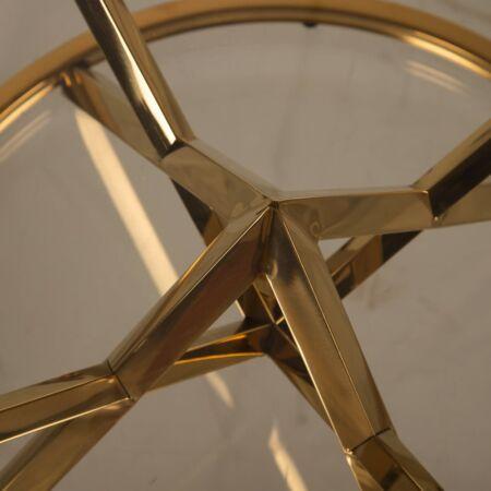 Desire dohányzóasztal arany - 90x44 cm