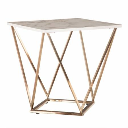 Nolen dohányzóasztal arany - 56x56 cm