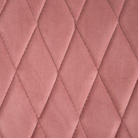 Hella bársony szék  - rózsaszín