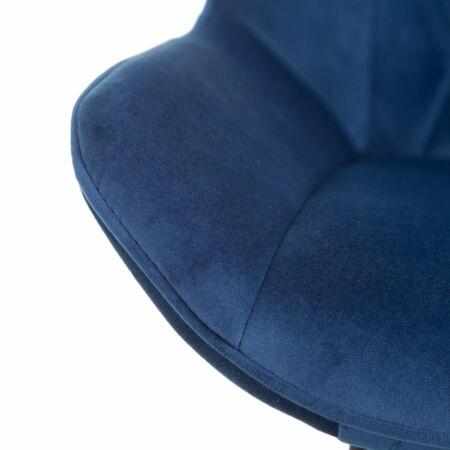 Hella bársony szék  - kék