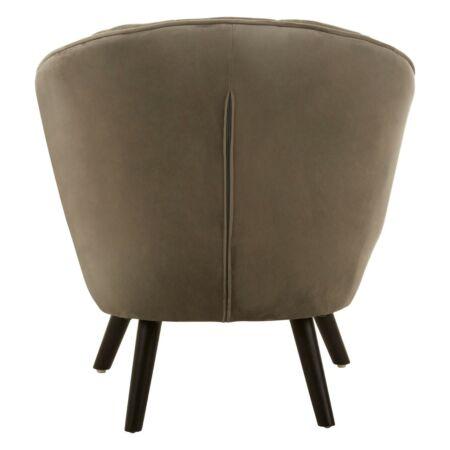 Regent fotel - szürkés-barna