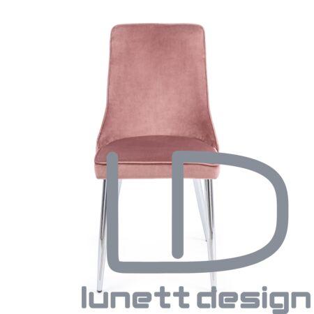 Amelia szék - rózsaszín kárpittal