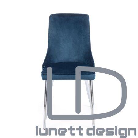 Amelia szék - kék kárpittal