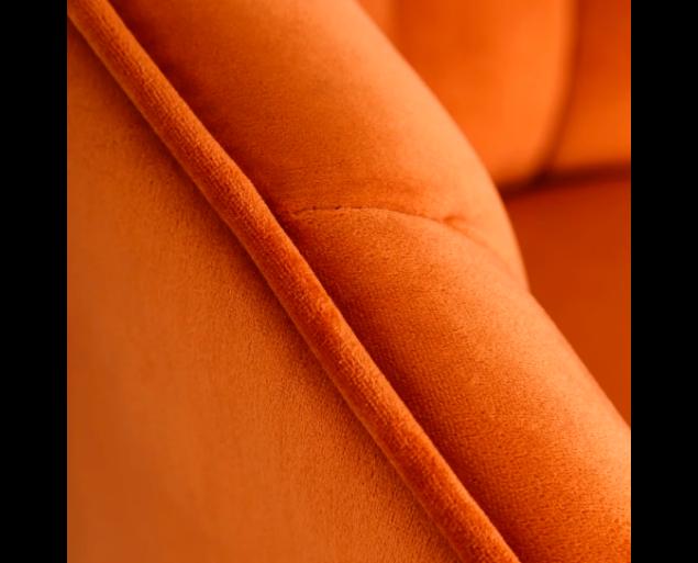 ALVARO fotel - narancs