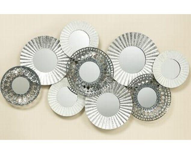 Whitesilver fali dekoráció - 109 cm