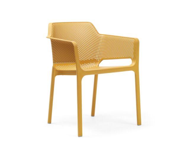 Net szék - sárga