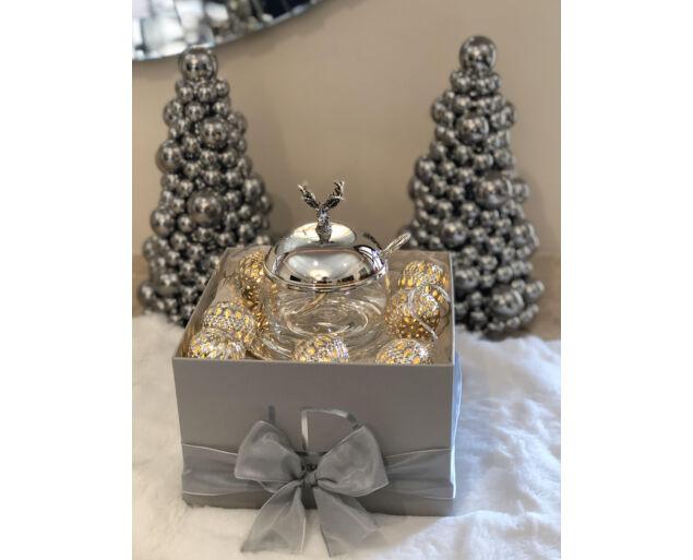 """Karácsonyi ajándékdoboz  """"Elf"""""""
