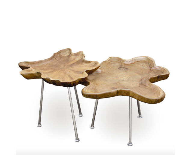 Tíkfa Dohányzóasztal - 45x80 cm