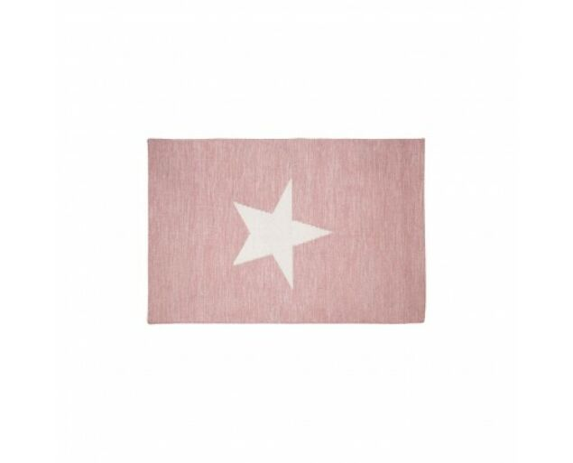Lunettbaby csillag szőnyeg - rózsaszín
