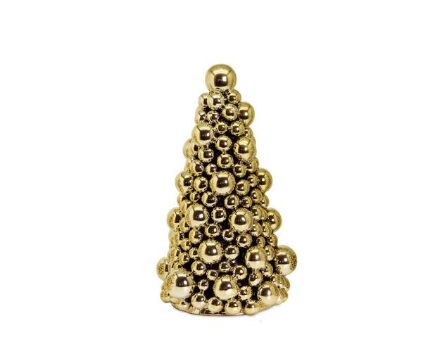 Arany Gömb Karácsonyfa- 27 cm