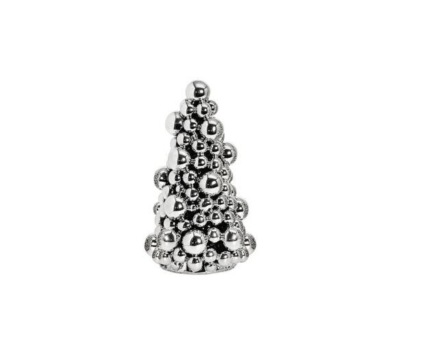 Ezüst Gömb Karácsonyfa- 27 cm