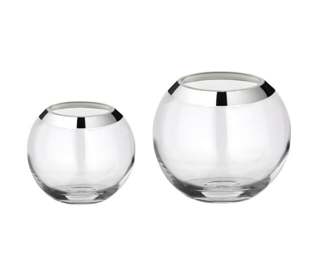 Jasmine üveg váza  - 20 cm
