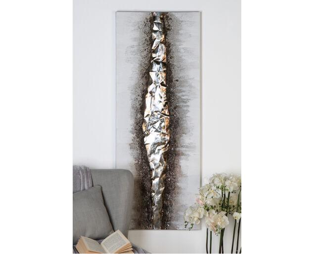 Fali dekoráció ovális - barna